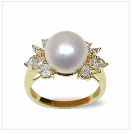 Electra a White Australian South Sea Pearl Ring