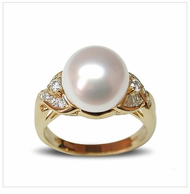 Juno White Australian South Sea Pearl Ring