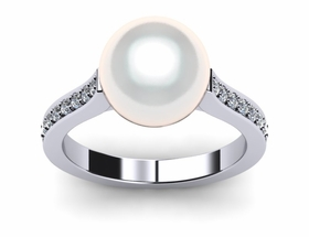 Freshwater Pearl ring Helix