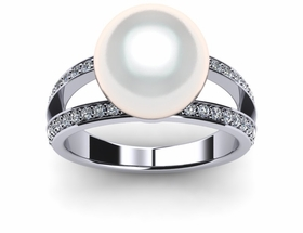 Freshwater Pearl ring Leo
