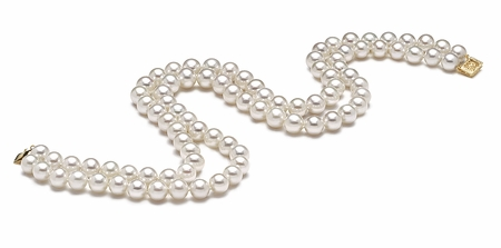 AAA  9 x 9.5mm Freshwater Pearl Necklace
