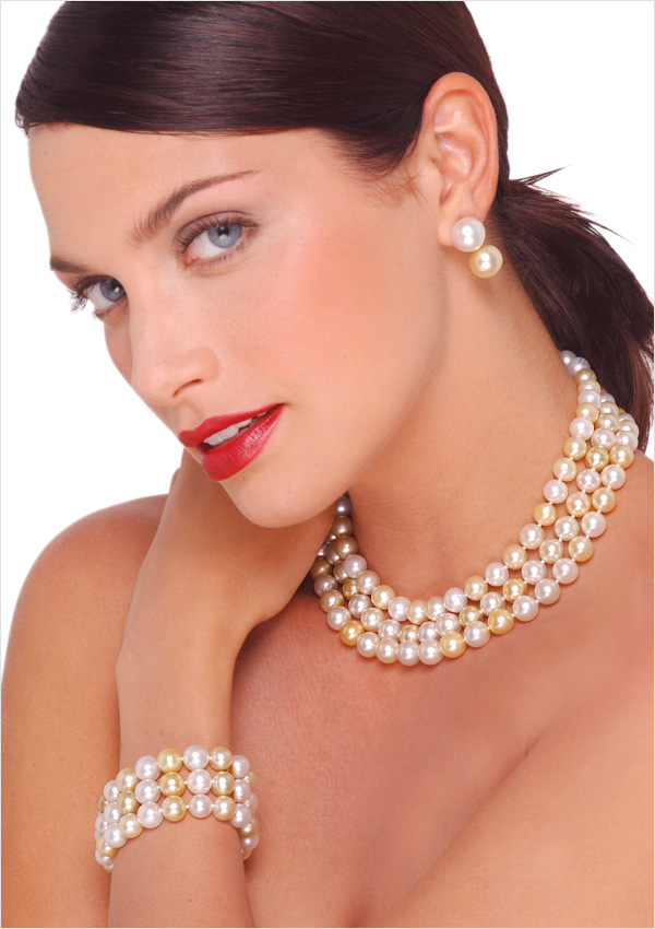 Get high-grade pearl strands as well as pearl necklaces, bracelets, rings, and earrings at a fraction of their traditional cost. Shop online at your convenience and enjoy personalized service and expert advice from American Pearl.