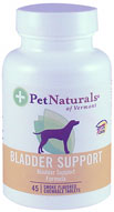 Pet Naturals Bladder Support for Dogs 45 Tabs