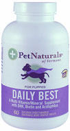 Pet Naturals Daily Best For Puppies 60 tabs