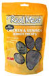 Real Meat Jerky Treats Chicken and Venison Formula for Dogs 12 oz Bag