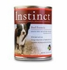 Nature's Variety Instinct Canned Dog Food Beef Formula Case of 12 / 13.2 oz cans