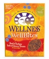 Wellness WellBites Beef and Turkey Soft and Chewy 8oz bag