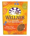 Wellness WellBites Turkey and Duck Soft and Chewy 8oz bag