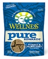 Wellness Pure Rewards All Natural Jerky Bits Turkey & Salmon 6oz bag