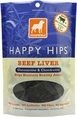 Dogswell Happy Hips Beef Liver Dog Treats 15oz Bag