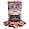 Zukes Beef Powerbone Dog Treat 6 oz pouch