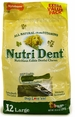 Nutri Dent Brush Bone 12 Pack - Large Value Pack