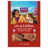 Halo Liv-A-Littles Freeze Dried 100% Lean Beef Protein Treats 1.2 oz Pouch