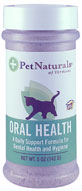 Pet Naturals Oral Health For Cats 5 oz Shaker Bottle