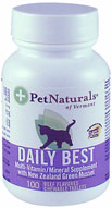 Pet Naturals Daily Best for Cats Beef 100