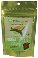 Pet Naturals Hairball For Cats (45 count)