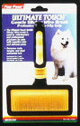 Ultimate Touch Gentle Slicker Wire Brush- For medium dogs by Four Paws