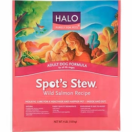Halo Wild Salmon, Adult Dog, 18 Pound Bag
