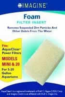 Imagine Aquaclear 20 Foam Insert 3 Pack