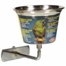 (B750) Living World Stainless Steel Parrot Cup, 12 oz.