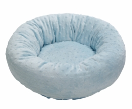 Dogit Donut Bed - Baby Dots Blue, Extra Small