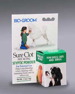 Bio Groom Sure Clot Styptic 1/2 Oz