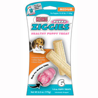 Kong� Puppy Ziggies� Medium 6pk