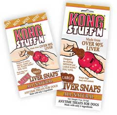 Kong� Stuff'n� Mini Liver Snaps 7 oz.