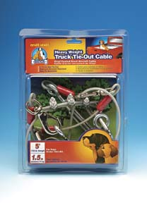 Tie-Out Cables Heavy Weight Truck Tie-Out Cable