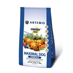Artemis Fresh Mix Maximal Dry Dog Food 15 lb