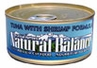 Natural Balance Tuna with Shrimp Formula Canned Cat Food Case of 24 / 6oz Cans
