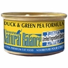 Natural Balance Green Pea / Duck Can Cat 24 / 3 oz Can