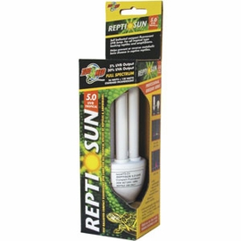 Zoo Med� ReptiSun 5.0 Compact Fluorescent UVB Bulb