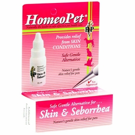 Homeopet Skin & Seborrhea, 15 Ml Bottle