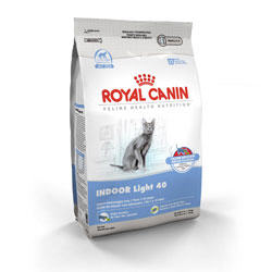 Royal Canin Feline Health Nutrition Indoor Light 40 Dry Cat Food 7 Lb Bag