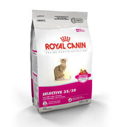 Royal Canin Feline Health Nutrition Selective 35/30 Dry Cat Food 3 Lb Bag