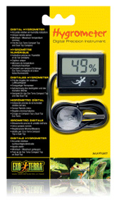 Exo-Terra Digital Hygrometer with Probe