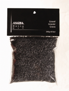Marina Betta Kit Decorative Gravel, Black