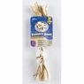 Aspen Booda Yummy 2 Knot Rope Bone Peanut Butter- Small