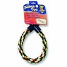 Aspen Super 8 Dog Tug Toy, Multi Colored- Medium