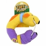 Aspen Pet Tuff Plush Round Hounds - Bone