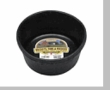 DuraFlex Rubber 2 Quart Feed Pan CASE of 24 Pans