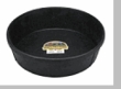 DuraFlex Rubber 3 Gallon Feed Pan CASE of 12 Pans