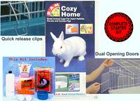 Deluxe Rabbit Starter Cage Kit