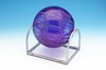 S.A.M. Bubble Toobs� Here and There Workout Ball - 5 inch Purple and Silver