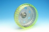 S.A.M. Bubble Toobs� Here and There Cage Workout Wheel - Lime Green and Silver