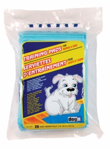 Dogit Training Pads for puppies, 20-pack