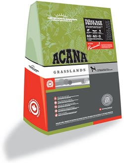 Acana Grasslands Grain-Free Dog Food 15.4Lb.