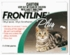 Frontline Plus Flea & Tick For Cats and Kittens, GREEN 3 Month Supply