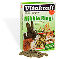 Vitakraft  Nibble Rings for Small Animals 10 2/3 oz  Box